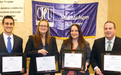 Chapter Leaders honored for service