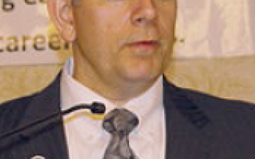 Photo of Lansing Mayor Virg Bernero.