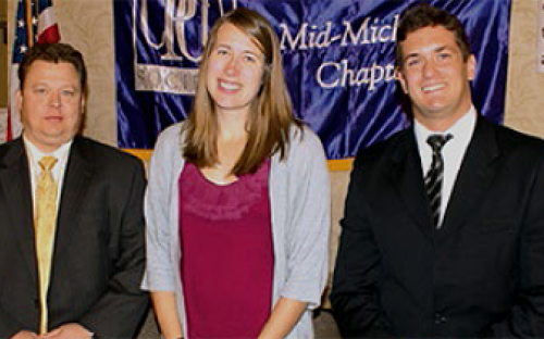 Photo of 2013 Chapter Scholarship winners.